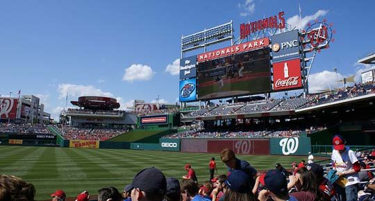 Where to Eat at Nationals Park