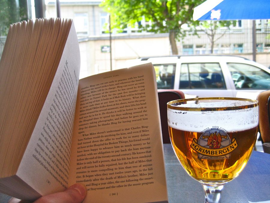 book and alcohol