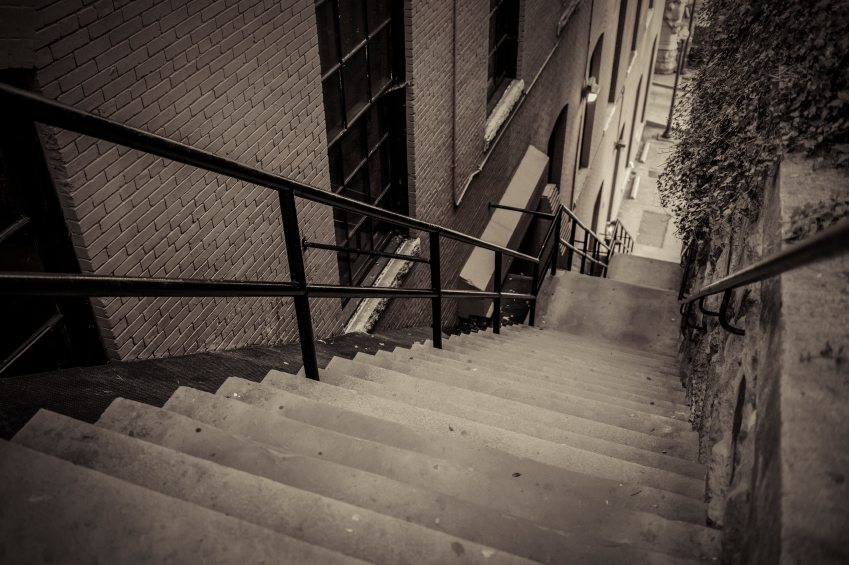 The Exorcist Steps