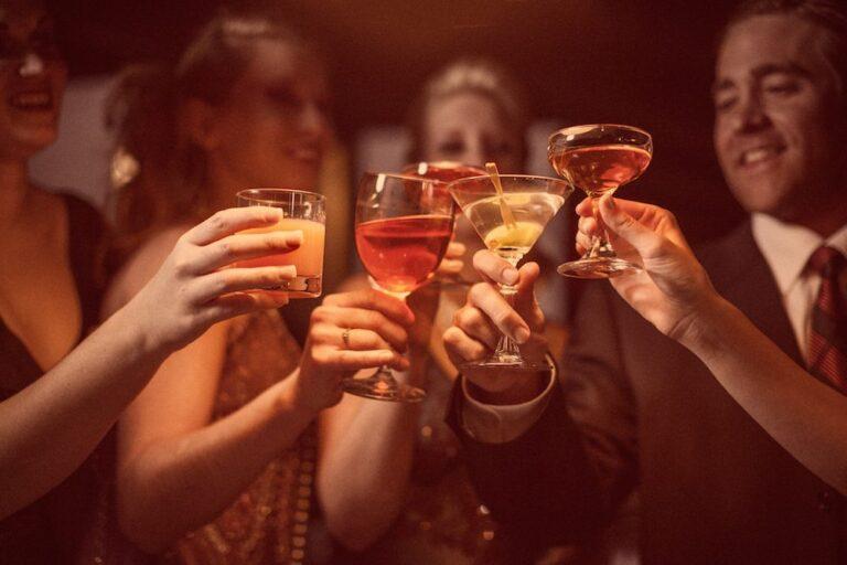 cocktail toast